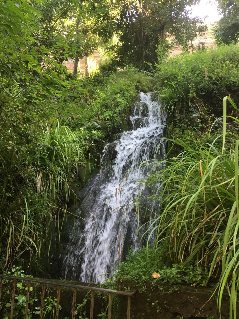 waterfall; Granada, Spain