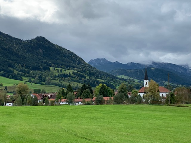 countryside in Bavaria, Germany