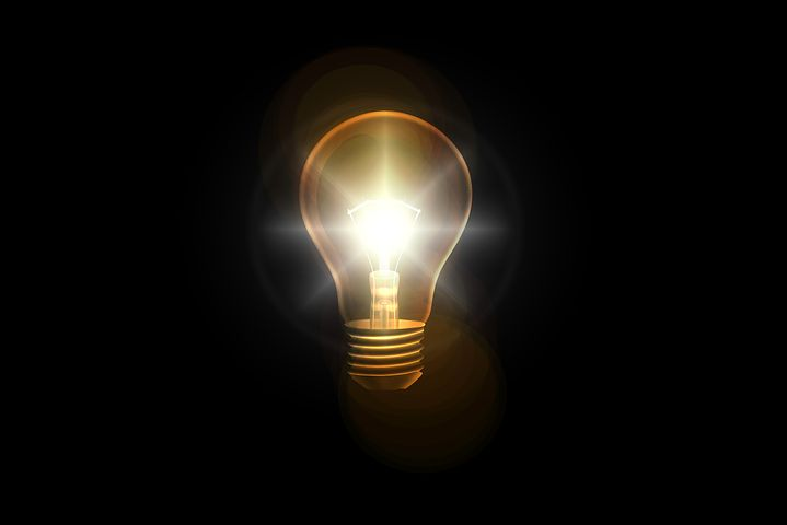Light bulb; image by Pixabay